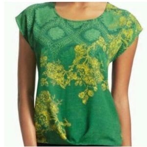 CAbi Green With Envy Top Sz S